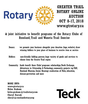 Rotary Club of Rossland- Welcome
